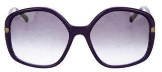 Marni Gradient Oversize Sunglasses
