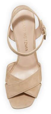 Stuart Weitzman Exposed Easy Platform Sandals