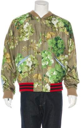 Gucci 2016 Reversible Blooms Bomber Jacket