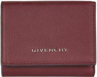 Givenchy Pandora Leather Flap Wallet