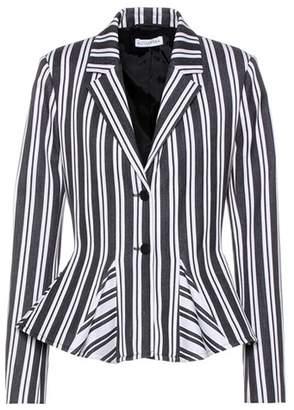 Altuzarra Clary striped wool-blend jacket