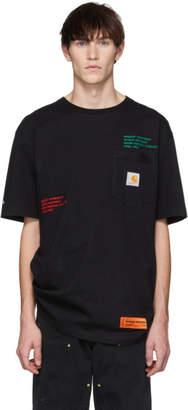 Heron Preston Black Carhartt Edition T-Shirt