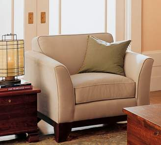Pottery Barn Greenwich Upholstered Armchair
