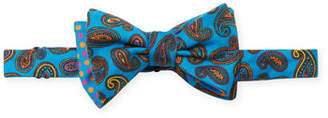 Edward Armah Maui Paisley & Polka-Dot Bow Tie