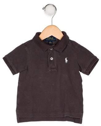 Ralph Lauren Boys' Collar Short Sleeve Shirt