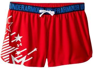 Under Armour Kids Americana Play Up Shorts Girl's Shorts
