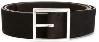 Orciani long beach double stretch leather belt