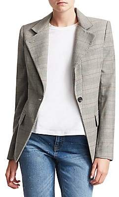 A.L.C. Women's Essex Plaid Blazer