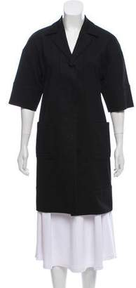 Alessandro Dell'Acqua Tailored Knee-Length Coat