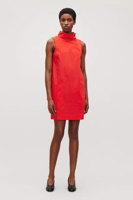 Cos SLEEVELESS DRESS WITH HIGH NECK