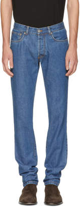 Brioni Blue Slim Jeans