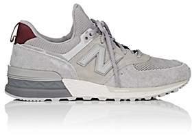 New Balance Men's 574 Suede & Mesh Sneakers - Gray