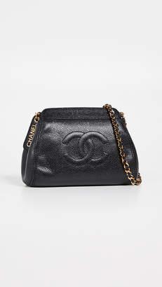 7361fe3dd5e3 Chanel What Goes Around Comes Around Caviar Mini Shoulder Bag