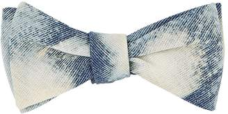 Title of Work Men's Bleached Cotton Bow Tie
