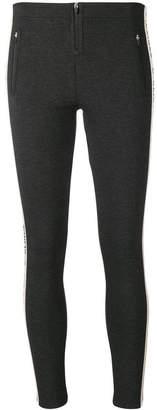 Pinko C-Clique zip tape leggings