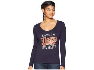 Champion College Auburn Tigers Long Sleeve V-Neck Tee