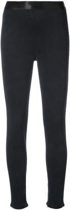 Gold Sign skinny high waist trousers