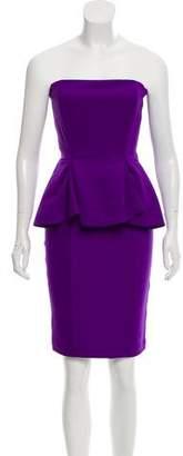 Torn By Ronny Kobo Strapless Mini Dress w/ Tags
