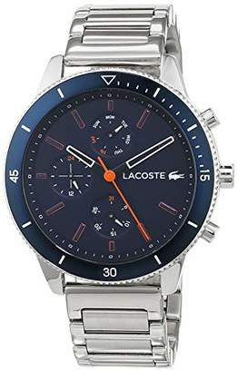Lacoste Mens Multi dial Quartz Watch with Stainless Steel Strap 2010995