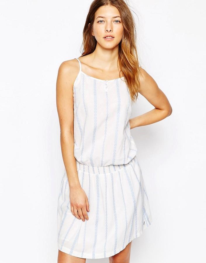 Vero Moda Boho Sun Dress - White