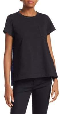 Sacai Buffalo Double-Face Pleat T-Shirt