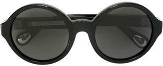 Ann Demeulemeester round frame sunglasses