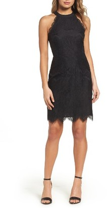 Women's Bb Dakota Josie Lace Sheath Dress $100 thestylecure.com