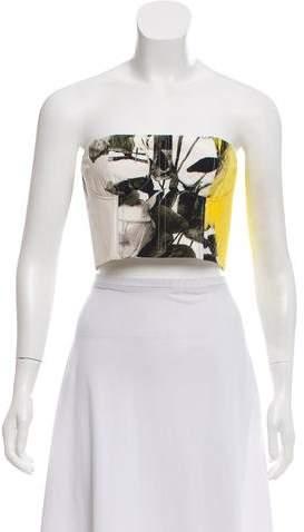 Christopher Kane Printed Sleeveless Top