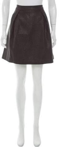 Trina Turk Pleated Mini Skirt