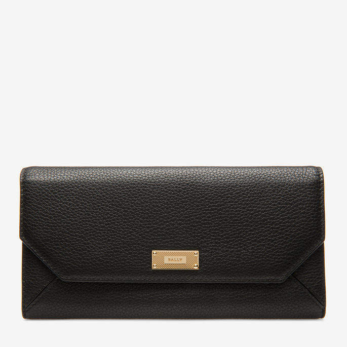 Linney Suzy Yellow, Womens grained bovine continental leather wallet in kodak Bally