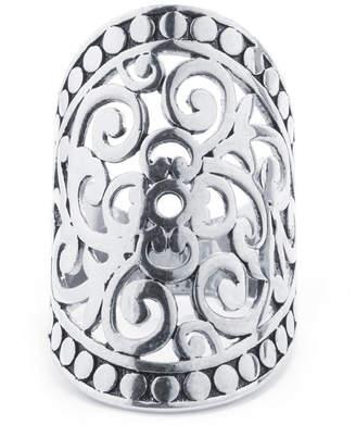 CRYSTAL SOPHISTICATION Crystal Sophistication Pure Silver Over Brass Oblong