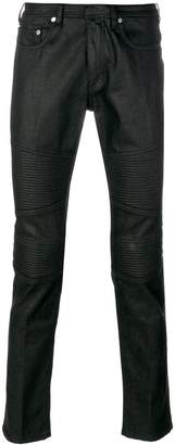Neil Barrett biker panel jeans