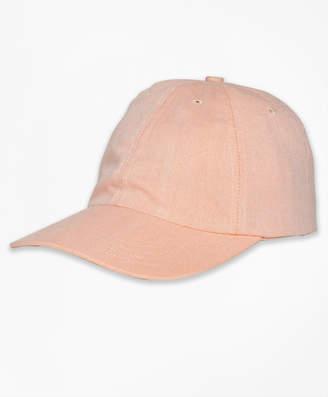 Brooks Brothers Cotton Oxford Baseball Hat
