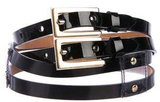 Dolce & Gabbana Double Buckle Belt