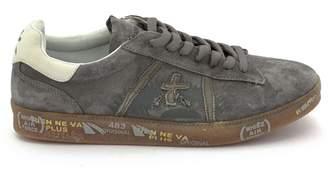 Premiata Andy Sneaker In Grey Suede Upper.