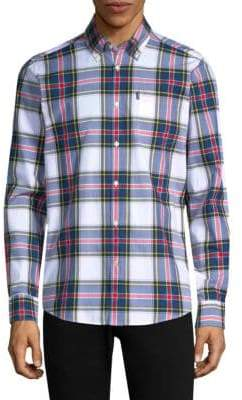 Barbour Oscar Tailored-Fit Cotton Button-Down Shirt
