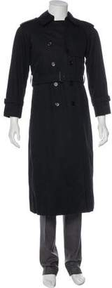 Burberry Wool and Camelhair Trench Coat