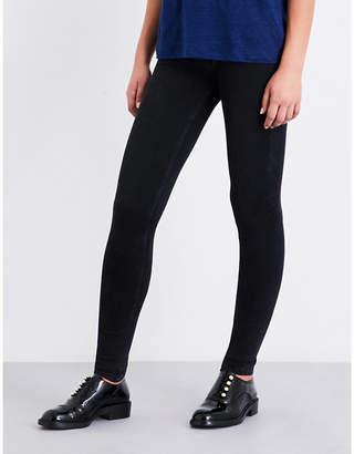 Maje Jaw skinny low-rise jeans
