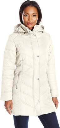 Big Chill Women's Mid Length Puffer Coat