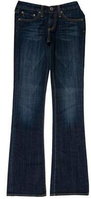 Adriano Goldschmied Low-Rise Wide-Leg Jeans