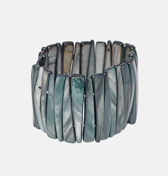 Avenue Triangle Shell Stretch Bracelet
