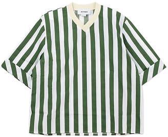 Sunnei Tshirt W/Knitted Vneck