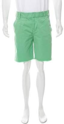 Barneys New York Barney's New York Distressed Chino Shorts
