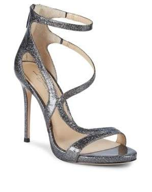 Vince Camuto Imagine Demet Metallic Leather Sandals
