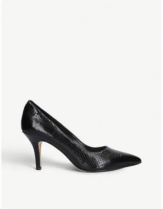 Nine West Flagship 75 faux-leather court shoes