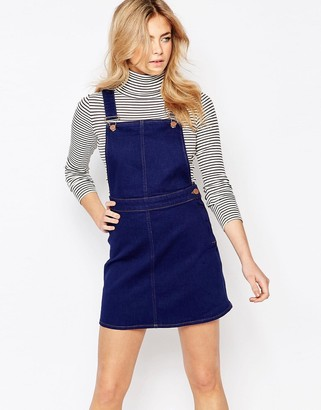 Oasis Overall Dress $73 thestylecure.com