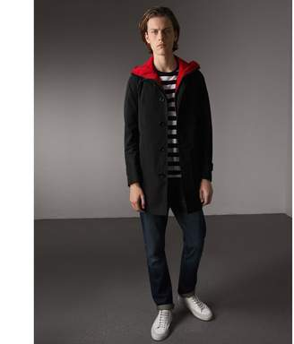 Burberry Shape-memory Car Coat with Detachable Sports Gilet