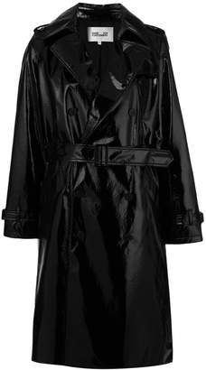 Diane von Furstenberg double breasted trench coat