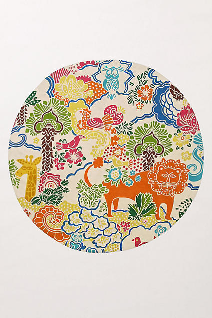 Anthropologie Dream Menagerie Rug