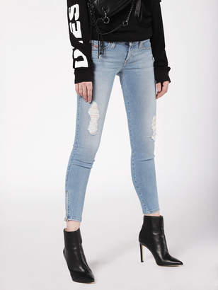Diesel SKINZEE-LOW-ZIP Jeans 084UZ - Blue - 23